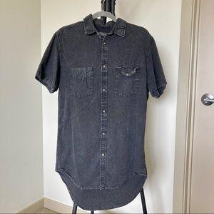 Men's Jack & Jones Originals Button Down T-shirt